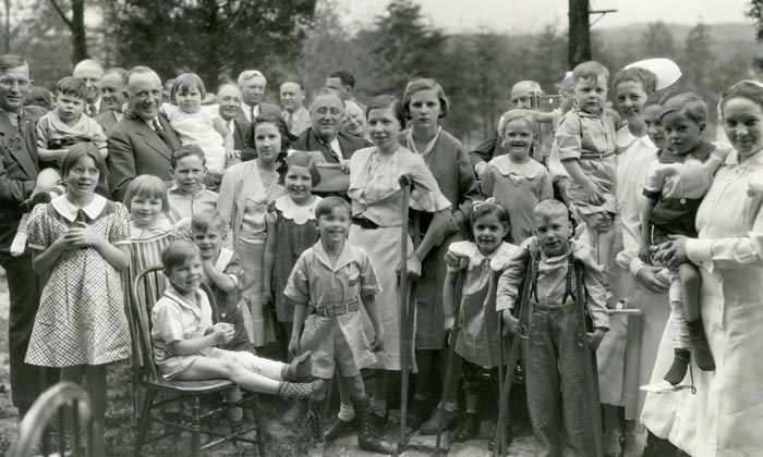fdr with children